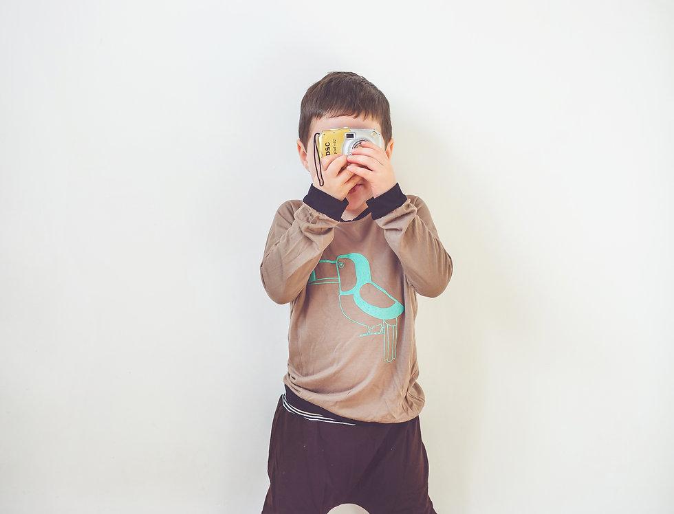 חולצת רגלן מוקה- טוקן