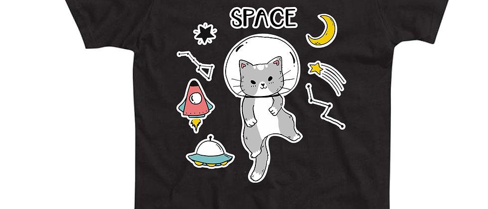 בייסיק טי חתול בחלל