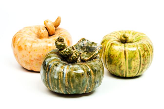 Orange Pumpkin Light green Pumpkin Dark green Pumpkin