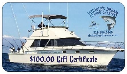 Dwindle's Dream Gift Certiictes