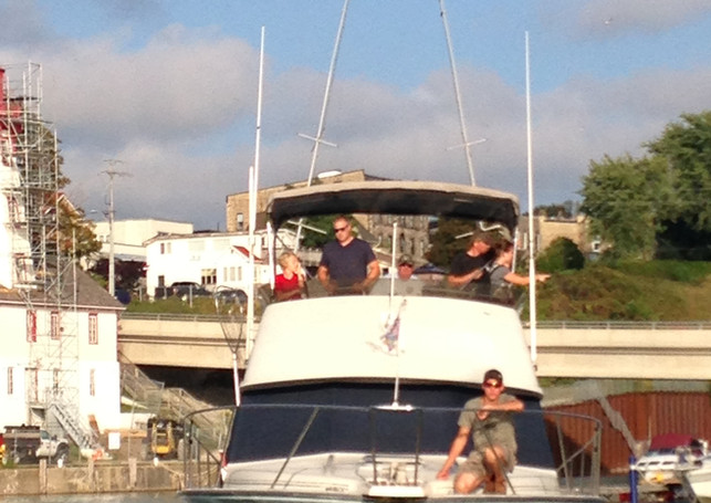 Returning To Dock After Another Successf