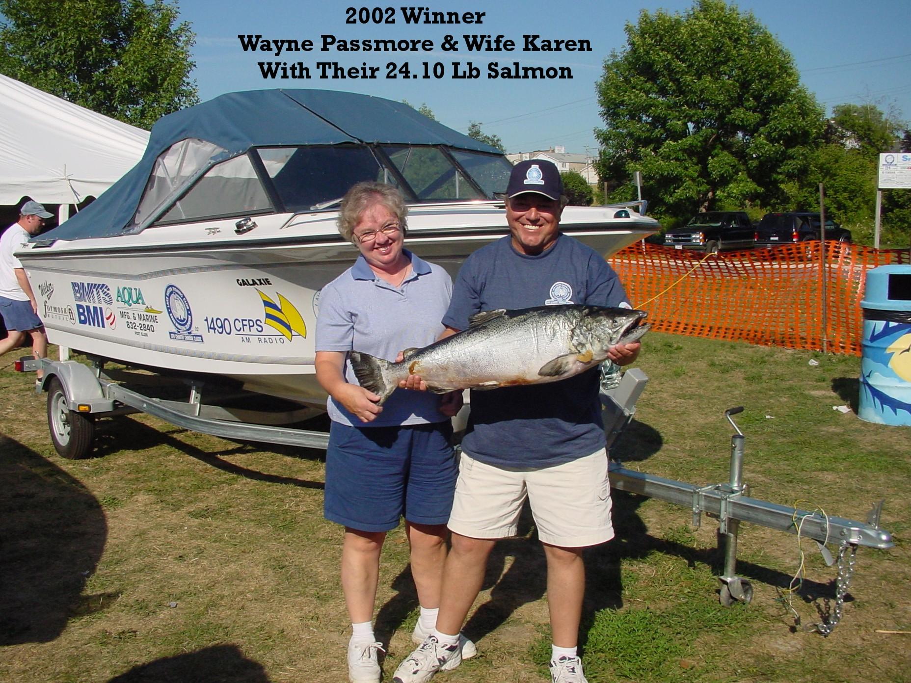 2002 Winner Wayne Passmore