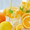 Lemoniada cytrynowo- pomarańczowa z miętą