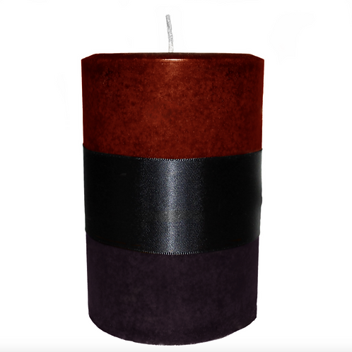 Dragon's Blood Patchouli Pillar Candle