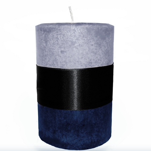 Stress Relief Pillar Candle