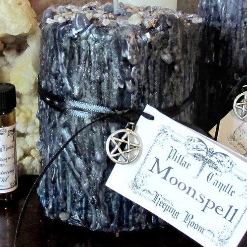 Moonspell Pillar Candle