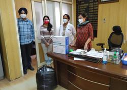 Donation in Jammu