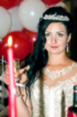 Невеста и свеча