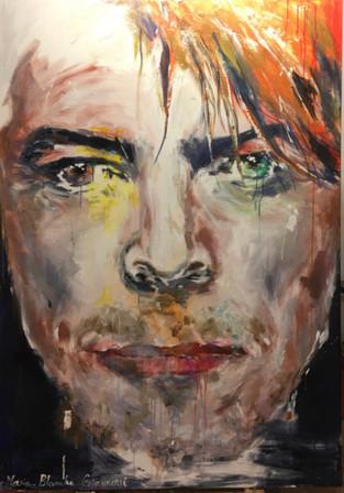 Bowie face
