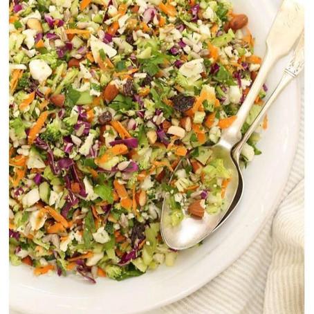 Crunchy detox salad!