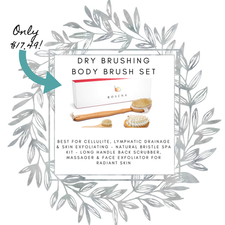 Dry Brushing body set!!!