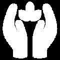 Blanco y Azul Simple Computadora Logo (1