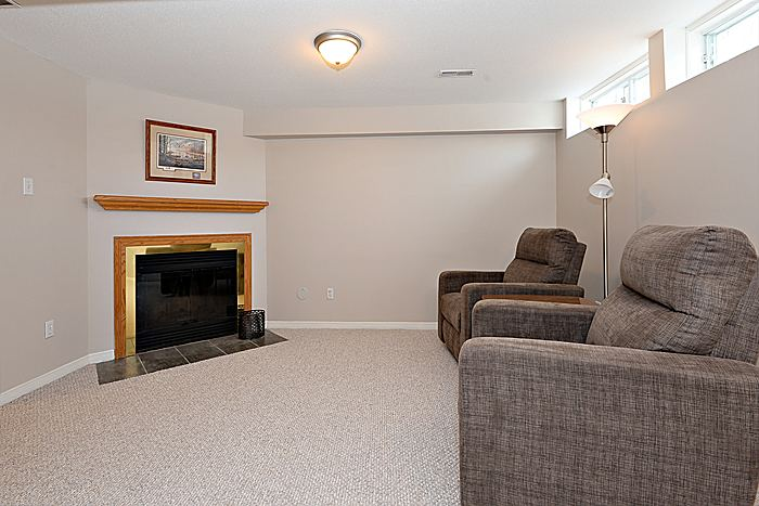Family Room: Lower Level