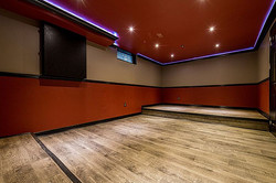 Lower Level Theatre Room