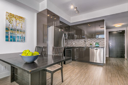 Glossy Finish Cabinetry