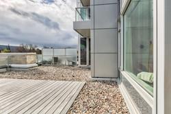 430 sq ft Private Terrace