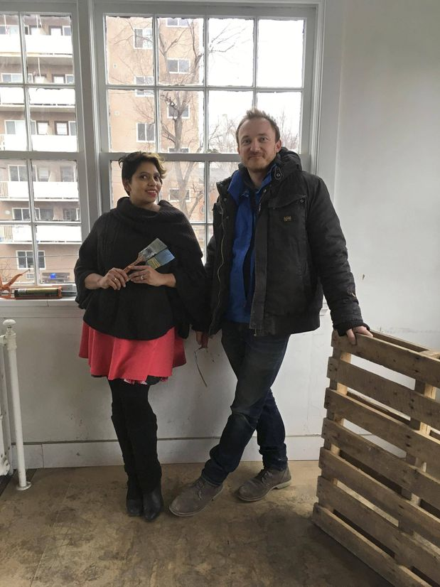 Katherine Sunita and her husband, Goran Mohar. They own a double storefront commercial building in St. Catharines, Ont.