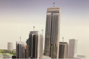 Claridge proposes 55-storey-tower, grocery store for East LeBreton Flats