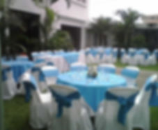 table Cloth,sash and cover chairs rentals