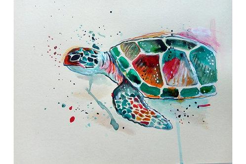 Sea Animals Art Work