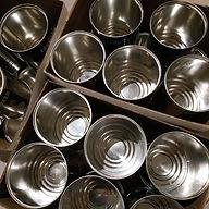 boite de conserve - spot luminaire - chantourné