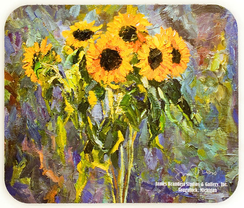 Sunflowers (1996) Mouse Pad