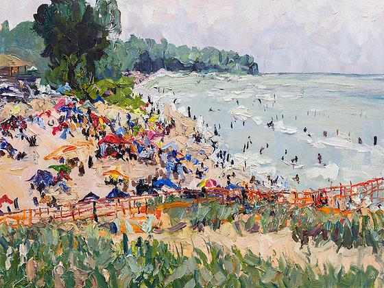 Summer at Oval Beach (2020)