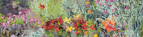 Debbies Garden (2010) Hand-Deckled Card