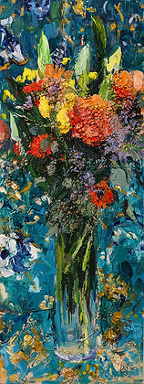 Late Winter Bouquet I (2019) Hand-Deckled Card