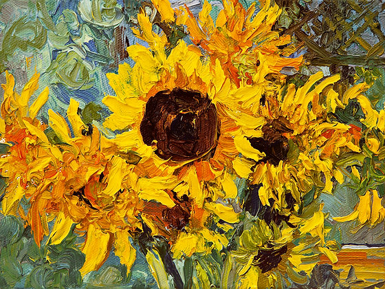Golden Sunflower I (2012)