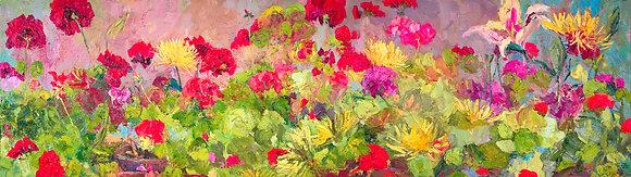 My Studio Garden (2009) Hand-Deckled Card