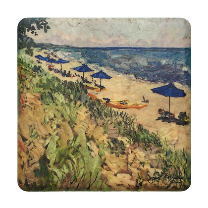 Coaster #4 - Saugatuck Beaches