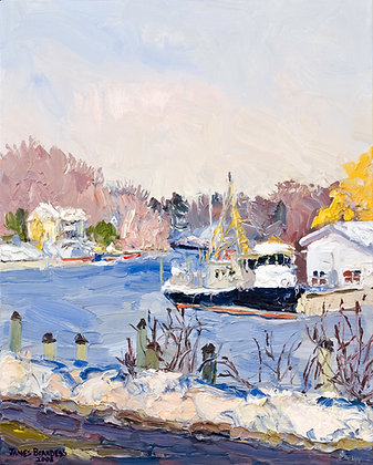 Winter, Saugatuck (2008)