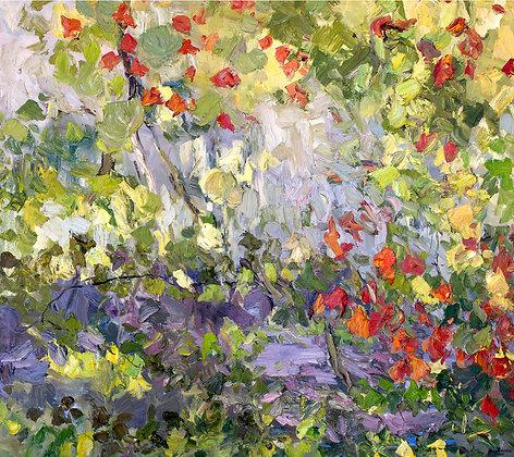 Autumn Light I (2010) Hand-Deckled Card