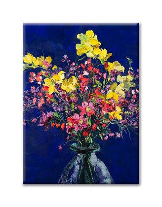 """""""March Bouquet"""" Magnet"""