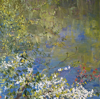 Dogwood of Spring (2010) Textured Giclée on Canvas