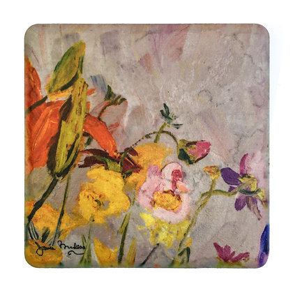 Coaster #2 - Orange Lilies