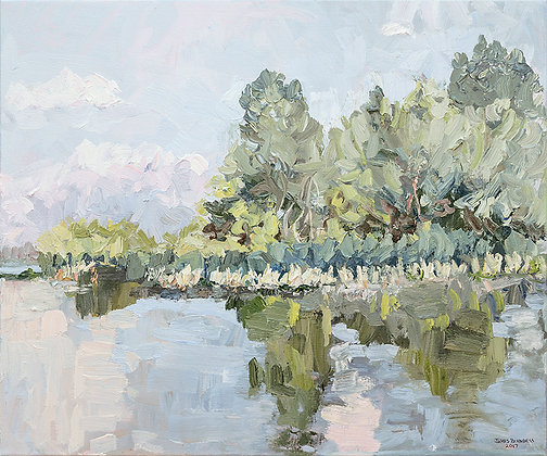 On the River, Mid June (2017)