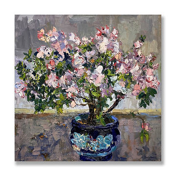 """Azalea in Bloom"" (2021) by James Brandess"