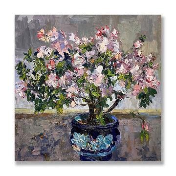 """""""Azalea in Bloom"""" (2021) by James Brandess"""