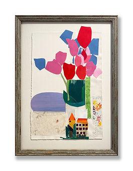 """""""A Cut Paper Bouquet"""" (2021) by James Brandess"""