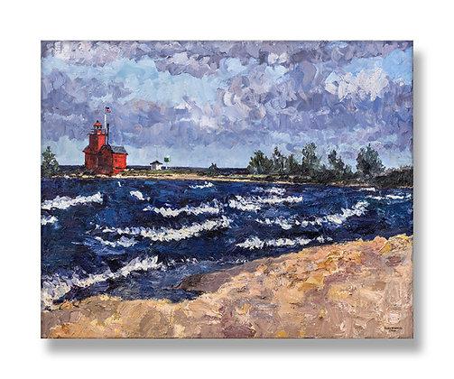"Big Red, 2019 (2019) Giclée on Canvas - 36"" x 45"""
