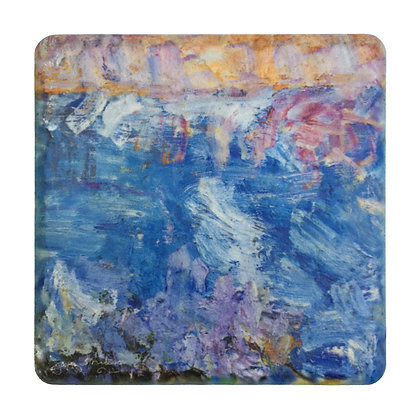Coaster #4 - Lavender Sunset