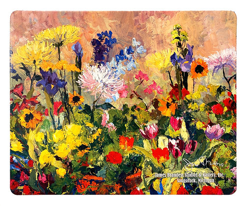 Spring Flowers in the Studio Mouse Pad