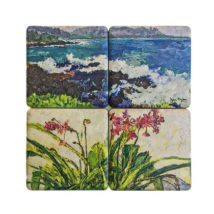 Kauai Coaster Set