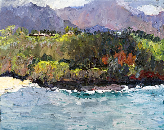 Kauai Landscape III, Spring (2014) Hand-Deckled Card
