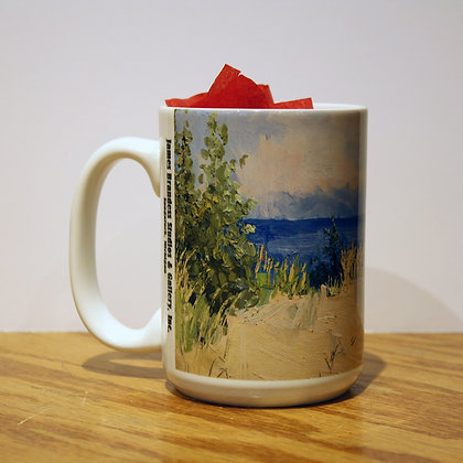September Morning, Michigan Dunes (2009) Mug