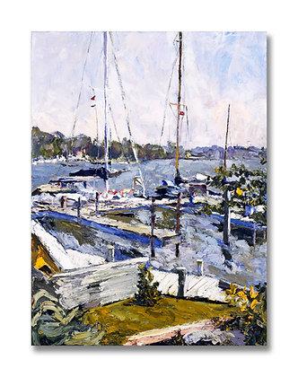 "September Light (1998) Giclée on Canvas - 40"" x 30"""