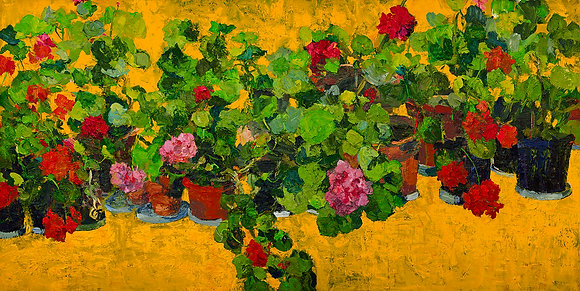 Golden Geraniums (2012)