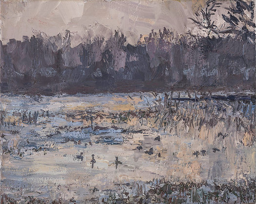 Geese on the Winter Bayou  (2021)